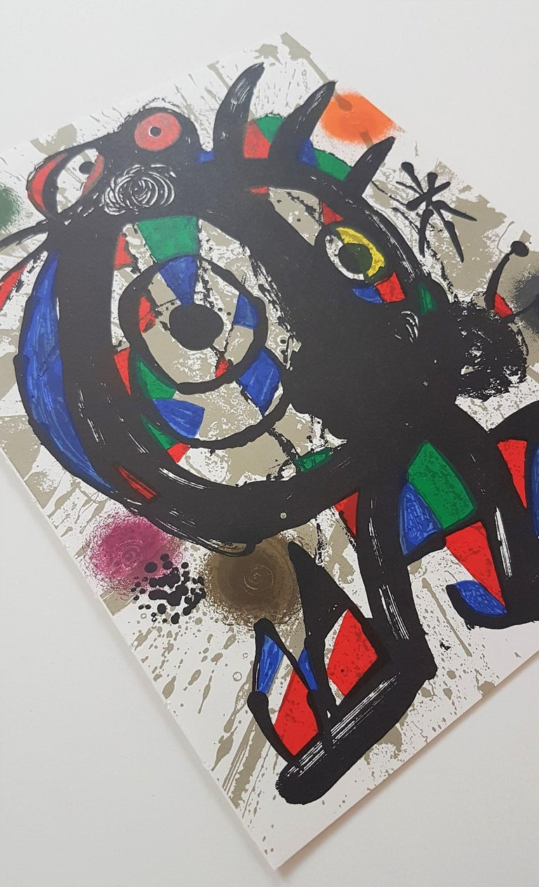Lithographie Originale I - Abstract Expressionist Print by Joan Miró
