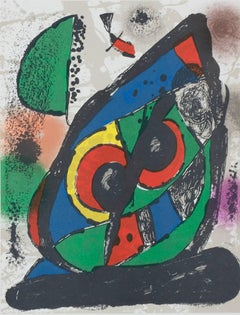 Lithographie Originale I, from Miro Lithographs IV, Maeght Publisher, Joan Miró