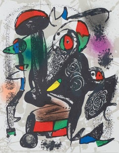 Lithographie Originale III, from Miro Lithographs IV, Maeght Publisher Joan Miró