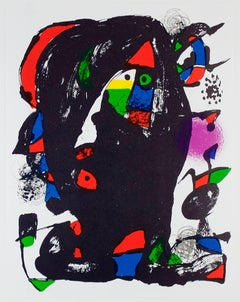 Lithographie Originale IV, from Miro Lithographs IV, Maeght Publisher Joan Miró