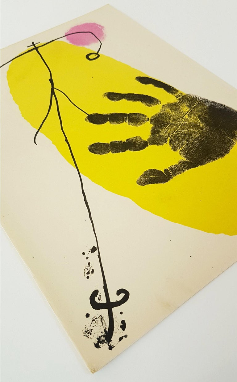 Lithographier Originale (one plate from Artigas) - Modern Print by Joan Miró