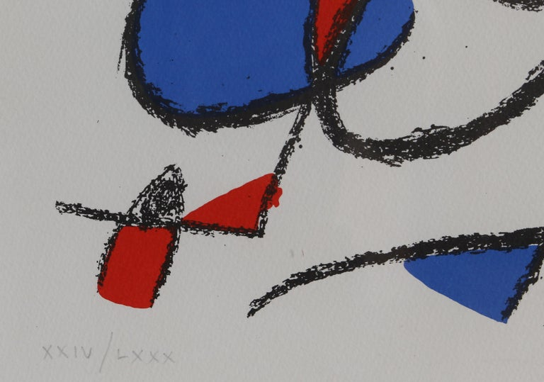 Lithographs II (M. 1044), by Joan Miró For Sale 1