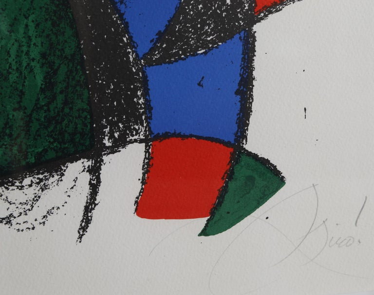 Lithographs II (M. 1044), by Joan Miró For Sale 2