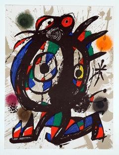 """""""Litografía Original III"""" - Joan Miró"""