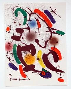 """""""Litografía Original VI"""" - Joan Miró"""