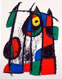 """""""Litografía Original VII"""" - Joan Miró"""