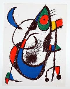 """""""Litografía Original XI"""" - Joan Miró"""