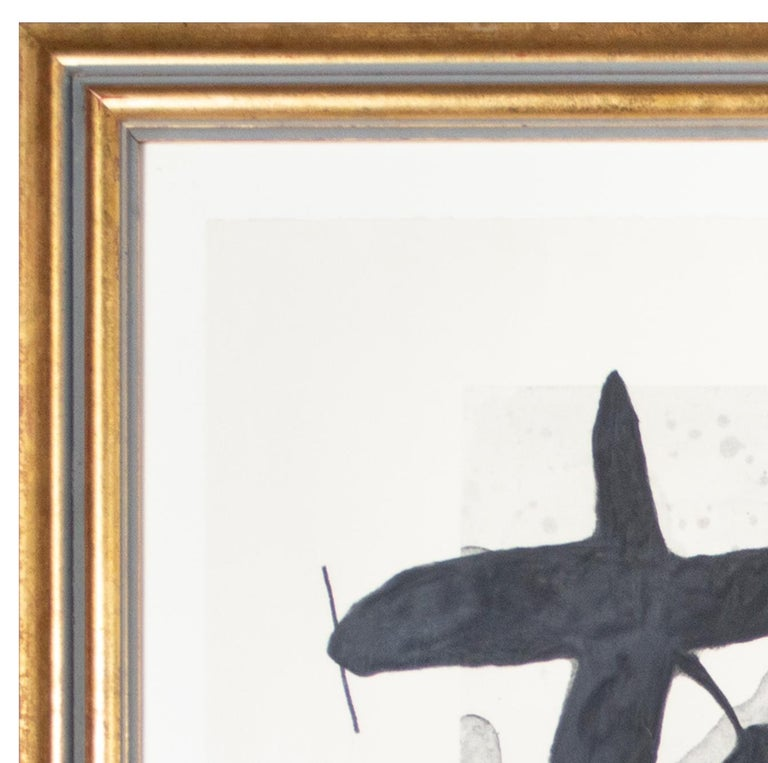 'l'Oiseau Destructeur' original abstract etching signed by Joan Miró For Sale 5