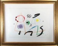 'Maravillas Con Variaciones Acrósticas En El Jardín De Miró' signed in pencil