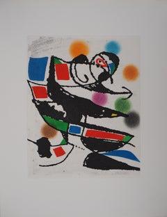 Marteau Sans Maitre III - Original etching, 1976