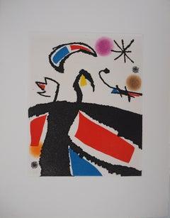 Marteau Sans Maitre IV - Original etching, 1976