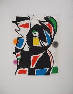 Marteau Sans Maitre IX - Original etching, 1976