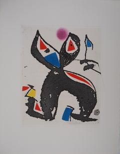 Marteau Sans Maitre V - Original etching, 1976