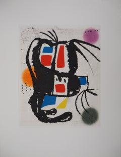 Marteau Sans Maitre VIII - Original etching, 1976