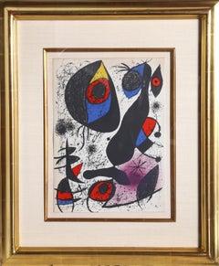 Miro a l'Encre I, Lithograph by Joan Miro 1972