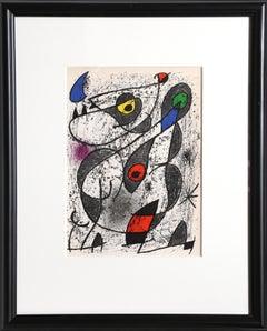 Miro a l'Encre II, Lithograph by Joan Miró