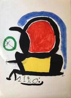 Miró el tapís de Tarragona, Joan Miró, 1970, Ed. 200, Lithograph