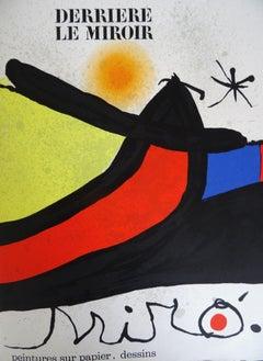 Miro, Joan. Derriere Le Miroir, album size 39x29 cm instance nr. 62