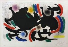 Miro Lithograph I Plate 9