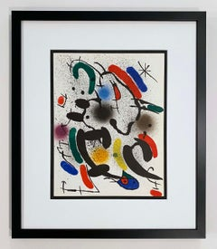 Miro Lithographe I Plate VI