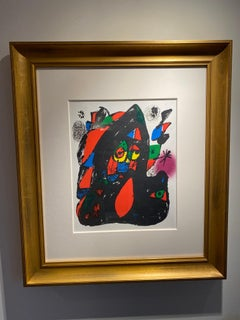 """""""MIRO LITHOGRAPHS VOLUME IV – COVER"""" by Joan Miro"""