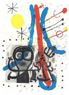 Miro: Peintures sur Cartons