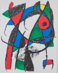 Original Lithograph I, from Miro Lithographs II, Maeght Publisher by Joan Miró