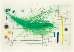 Partie de Campagne III - Joan Miró, Surrealism, Abstract Expressionism, Etching