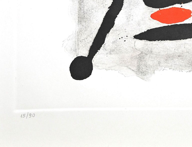 Por Alberti, por L'Espana (Constellation III) - Etching by Joan Mirò - 1975 - Surrealist Print by Joan Miró