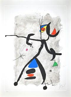 Por Alberti, por L'Espana (Constellation III) - Etching by Joan Mirò - 1975