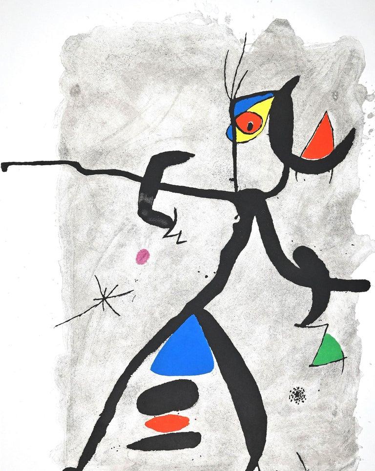 Por Alberti, por L'Espana (Constellation III) - Etching by Joan Mirò - 1975 - Print by Joan Miró