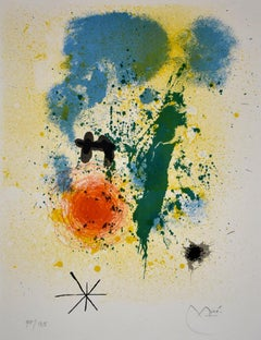 Preface, from: 52 Affiches - Lithograph, Spanish Abstract
