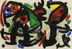 """""""Ronde de Nuit"""", page from Derrière le miroir, 1970"""