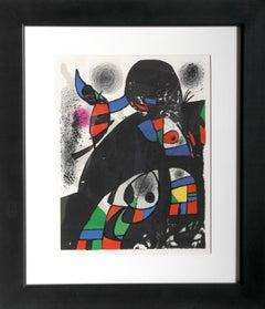San Lazzaro, Lithograph by Joan Miró