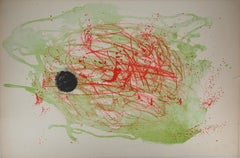 Serie I : Red and Green - Original Lithograph, Handsigned (Mourlot #210)