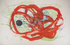 Green on Red, from Series I - Original Lithograph, Handsigned (Mourlot #283)