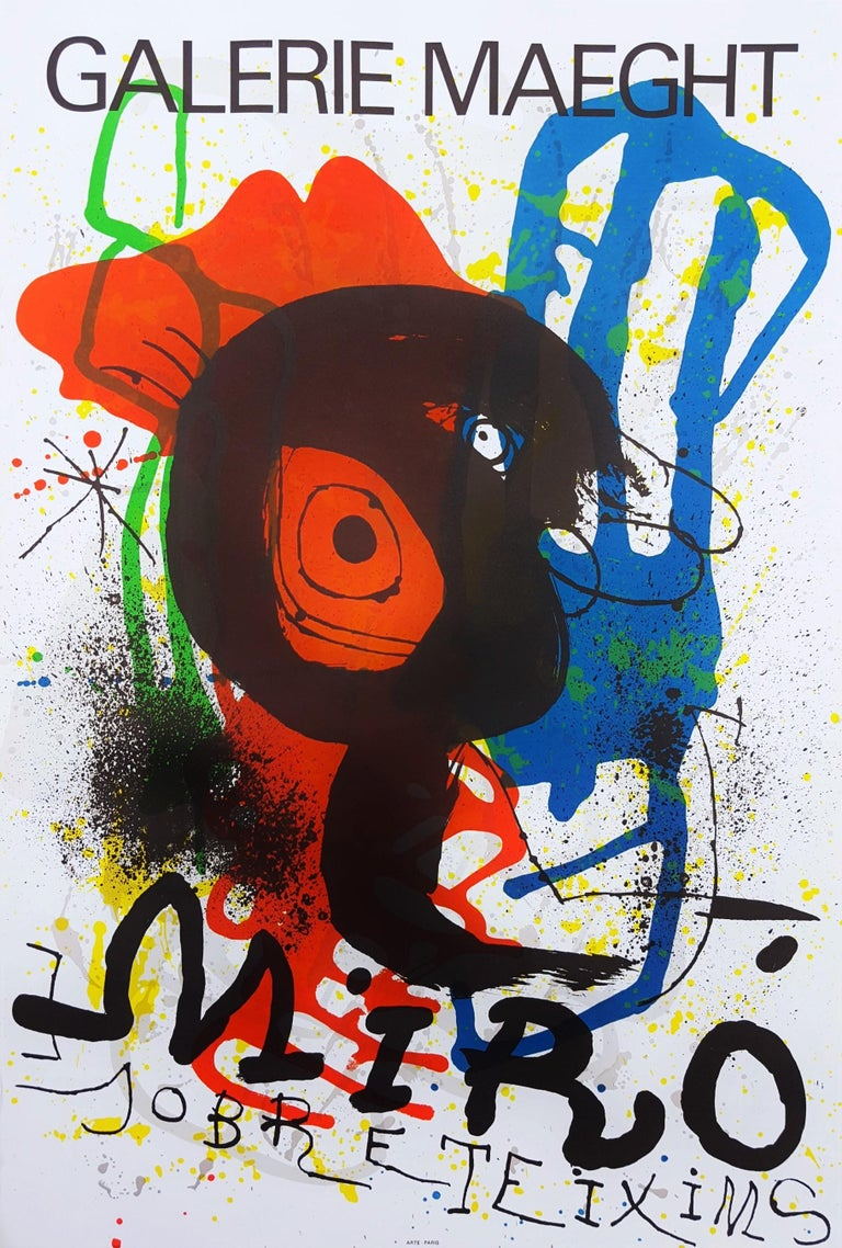 Joan Miró Abstract Print - Sobreteixims