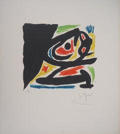 Untitled - Original lithograph, Hand Signed (Mourlot #682)