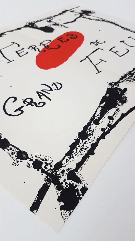 Terres Grand de Feu (one plate from Artigas) - Modern Print by Joan Miró