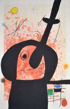 The Great Thinker  Le penseur puissant - Spanish Art, Post War