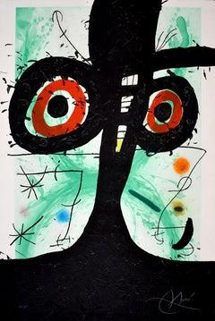 The Old Irishman  Le vieil irlandais - Carborundum, Spanish Art, Abstract Art