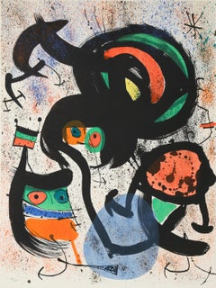 The Seers II, Lithograph in colors