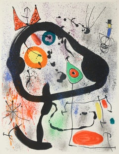 The Seers lll, Abstract Lithograph