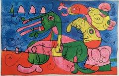 Ubu Roi, 1965 Lithograph, Joan Miro
