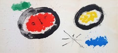 Untitled from Derrière le Miroir no. 128: Peintures Murales de Miró