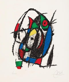 Untitled from Joan Miro Lithographes II