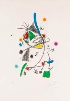 Untitled from Wonders with Acrostic Variations in the Garden of Miró