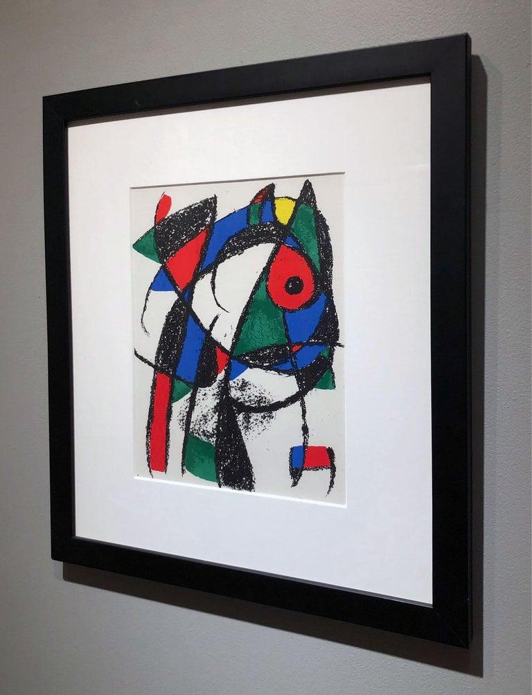 Artist:  Miro, Joan Title:  Untitled I Date:  1972 Medium:  Lithograph Unframed Dimensions:  12.5 x 9.5 Framed Dimensions:  20.75