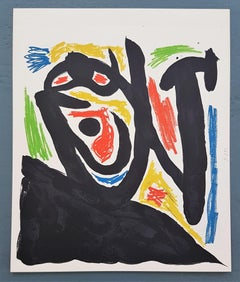 """Untitled"" (one plate from ""Maitres-Graveurs Contemporains"" - Berggruen & Cie)"