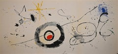 Untitled - Original Lithograph by Joan Mirò - 1961